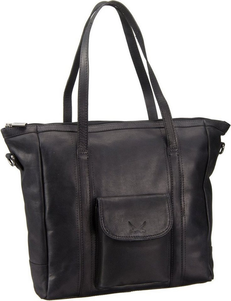 Sansibar Saturnus 1064 Shopper Bag in Black