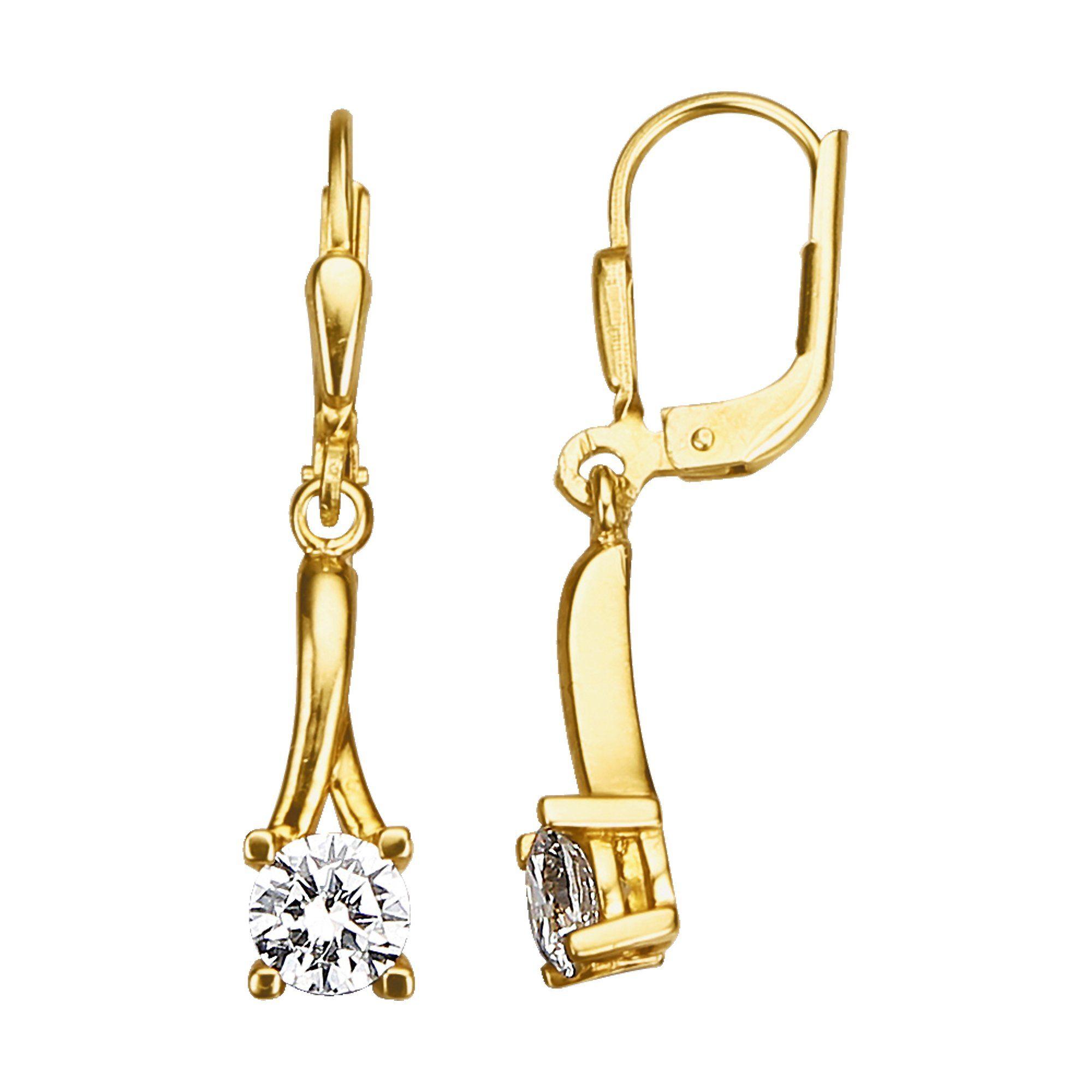 Jacques Lemans 375/- Gold »Ohrhänger«