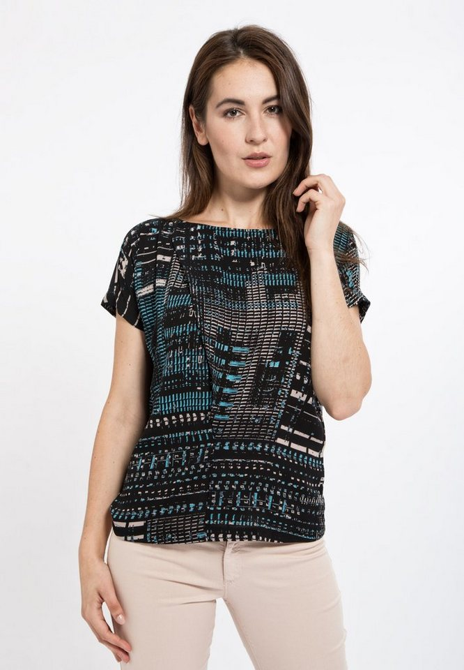 Mexx Shirtbluse in schwarz