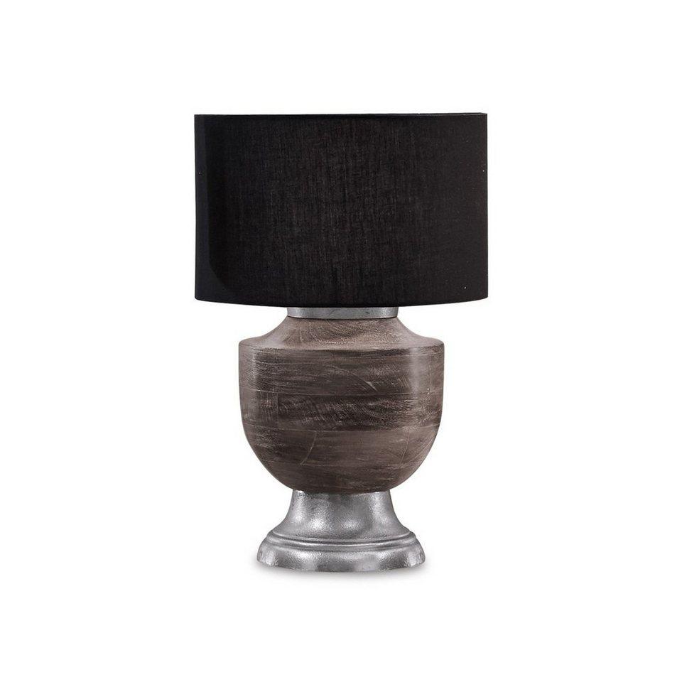 Loberon Tischlampe »Starlene« in grau/schwarz