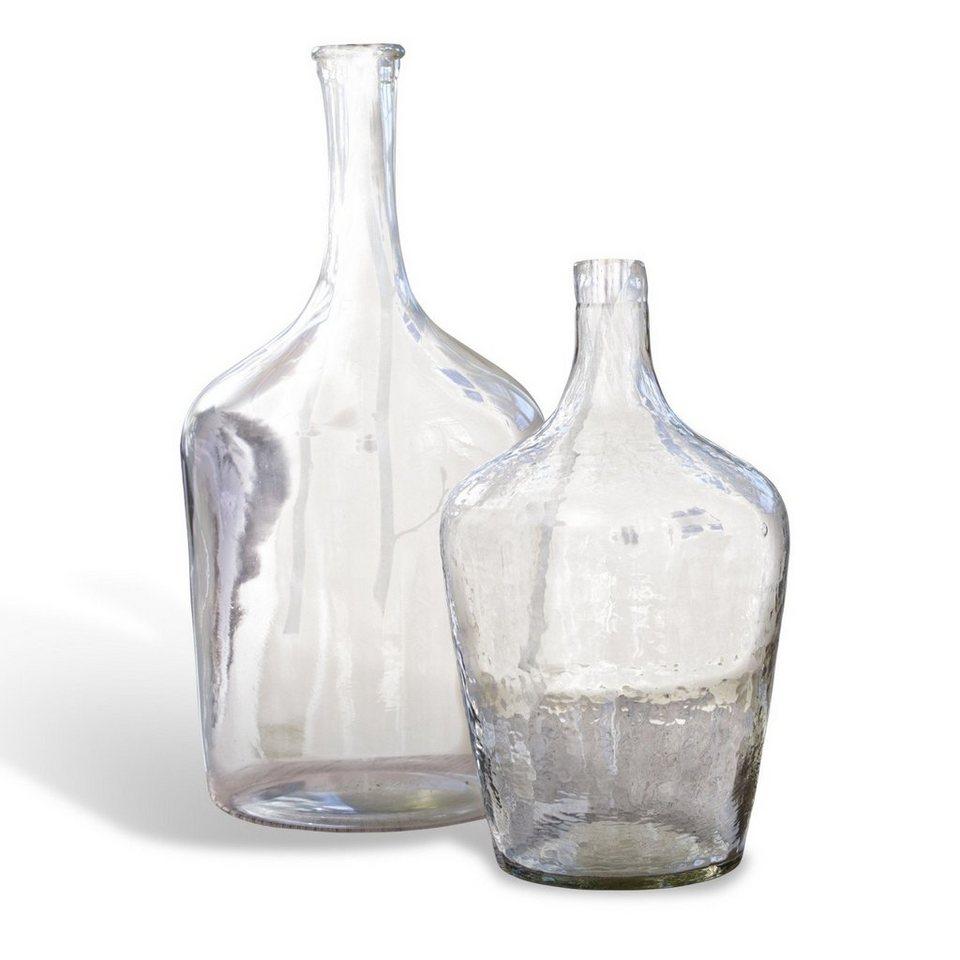 Loberon Flasche 2er-Set »Eliza« in klar