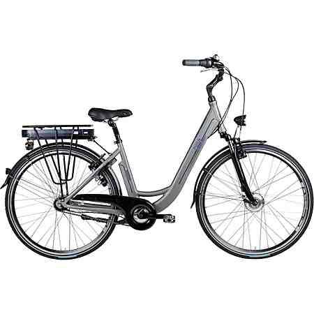 Biria E-Bike City Damen, 28 Zoll, 7-Gg. Shimano Nexus, V-Brake, Vorderradm. 250 W, 36V/ 11Ah