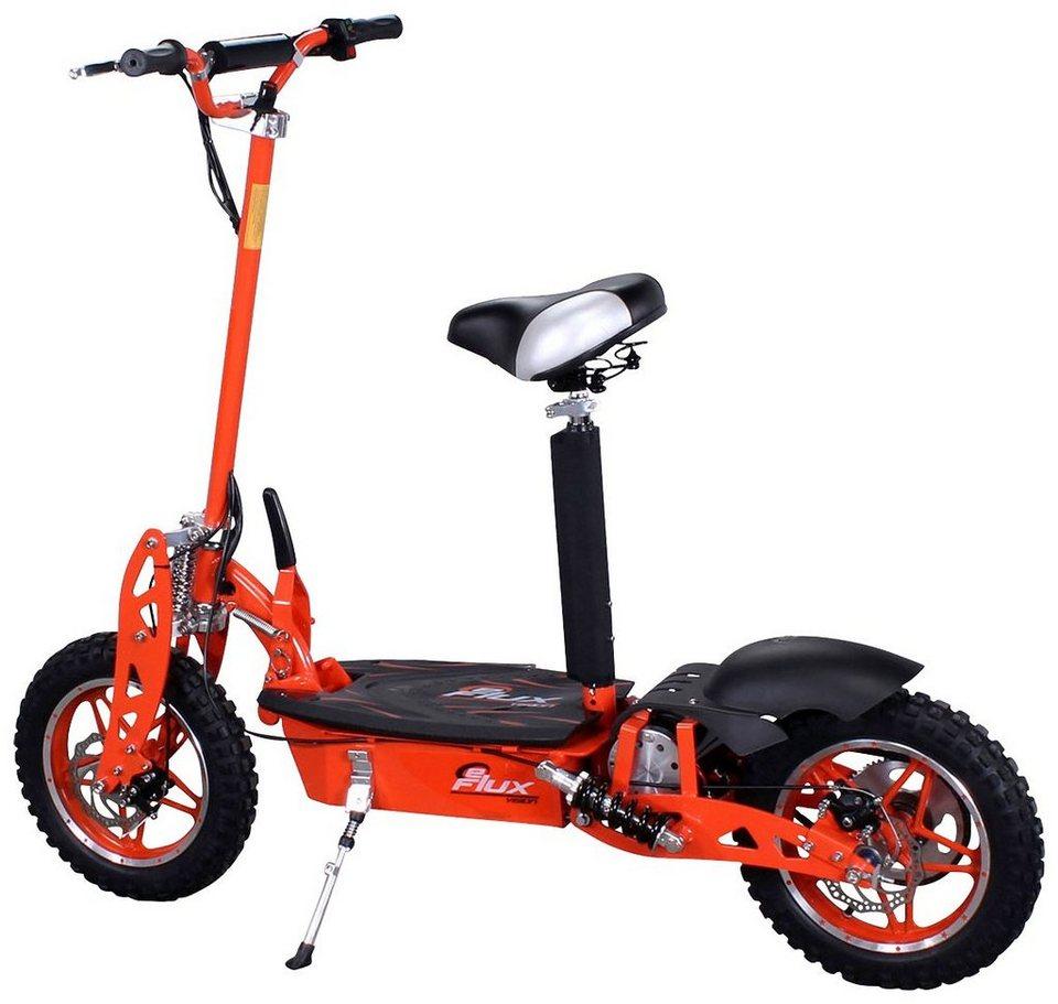 E-Scooter »Vision«, 1000 Watt, 30 km/h in orange