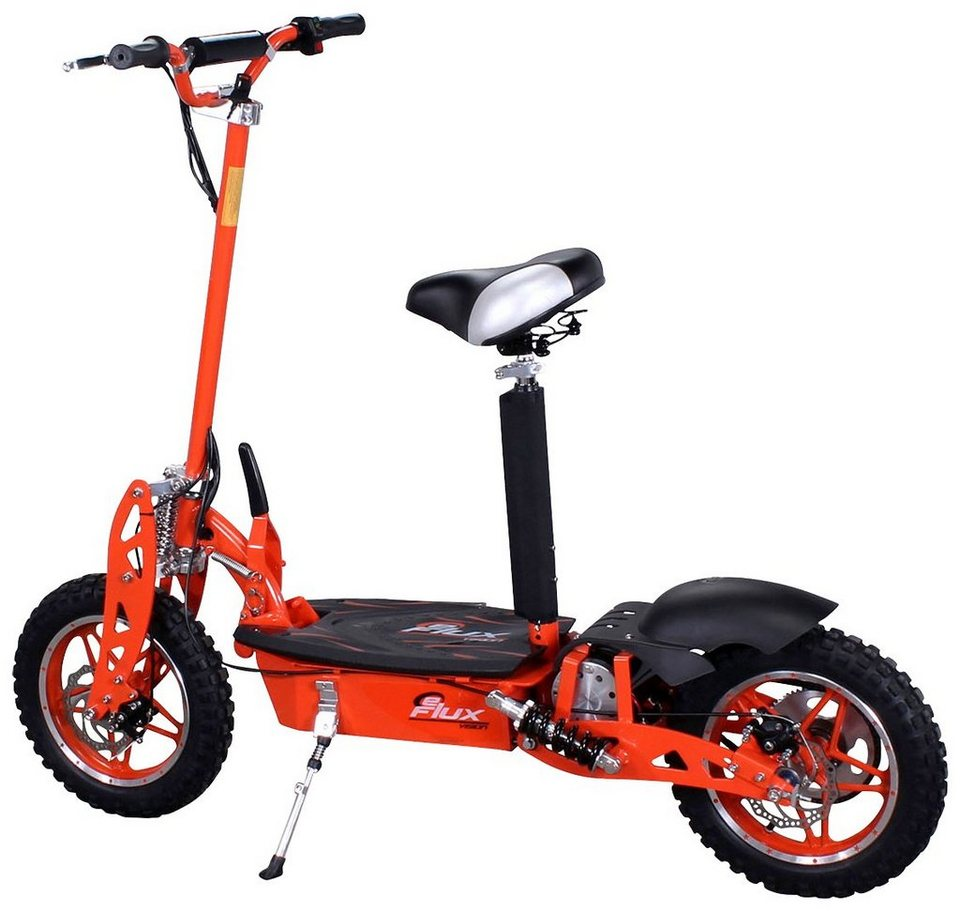 Eflux E-Scooter »Vision«, 1000 Watt, 30 km/h in orange