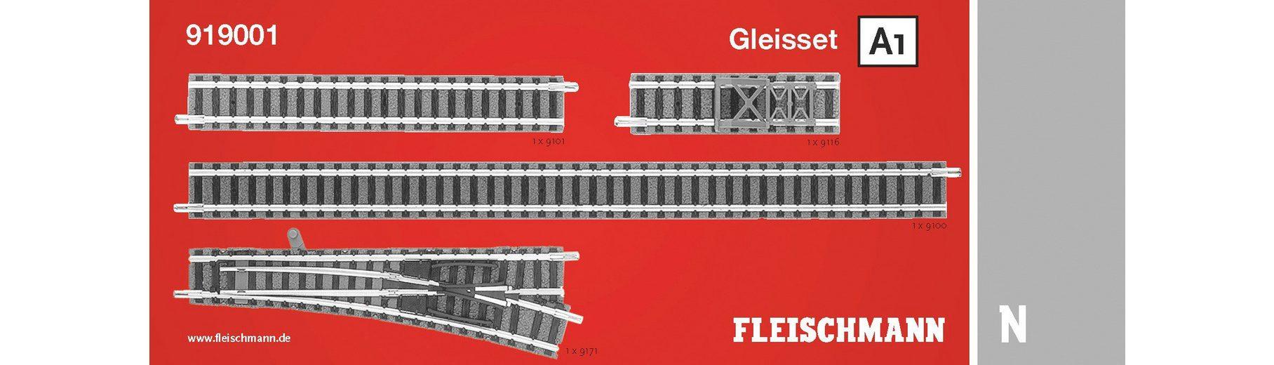 Fleischmann® Digitales Gleisset, Spur N, »A1 - Gleichstrom«