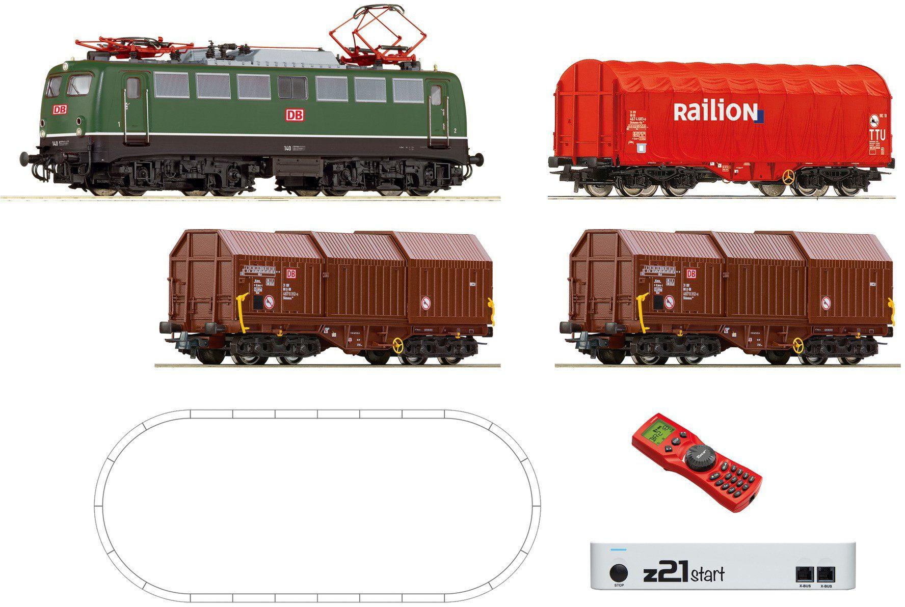 Roco Digital Set, Spur H0, »E-Lok BR 140 + Gz - Gleichstrom«