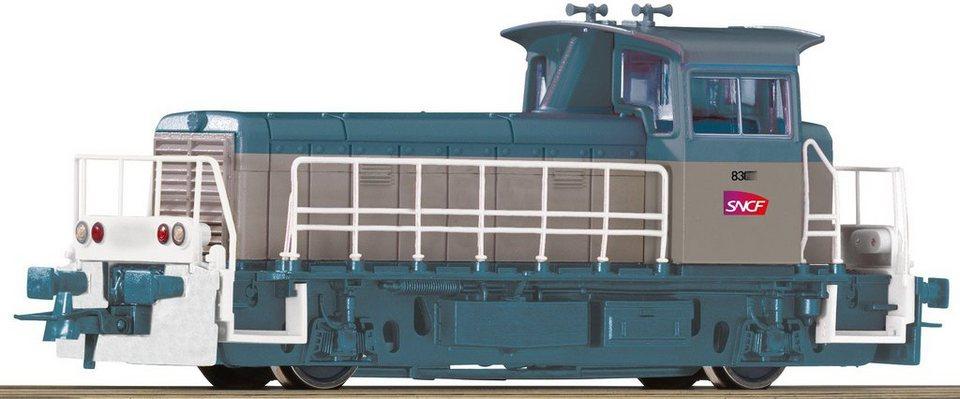 Roco Diesellokomotive, Spur H0, »Y8400 SNCF grau - Gleichstrom« in blau