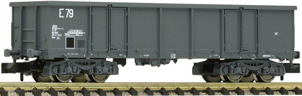 Fleischmann® Güterwagen, Spur N, »Eaos 106 SNCF - Gleichstrom« in grau