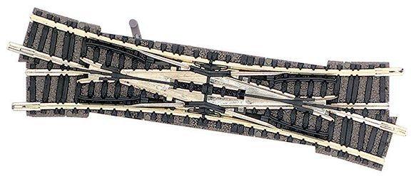 fleischmann weiche doppelkreuzungsweiche spur n rechte hand gleichstrom wechselstrom. Black Bedroom Furniture Sets. Home Design Ideas