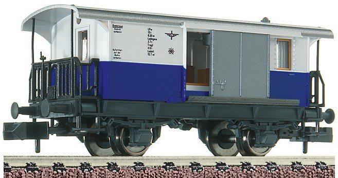 Fleischmann® Gepäckwagen, Spur N, »Zahnradbahn - Gleichstrom« in blau