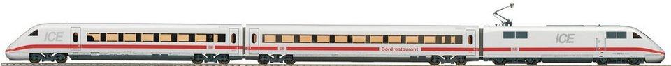 Roco ICE Zug, Spur H0, »ICE 2 3tlg. DCC - Gleichstrom« in weiß