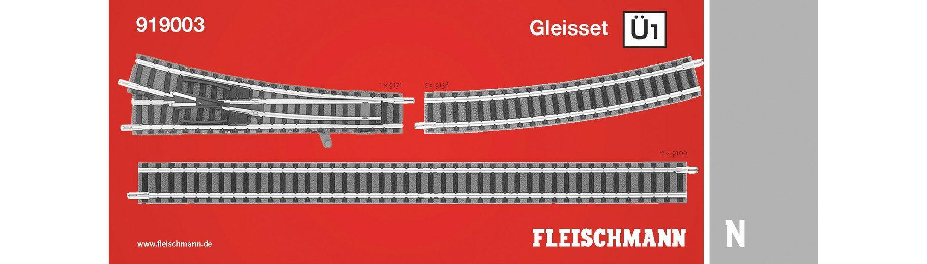Fleischmann® Digitales Gleisset Spur N, »Ü1 - Gleichstrom«