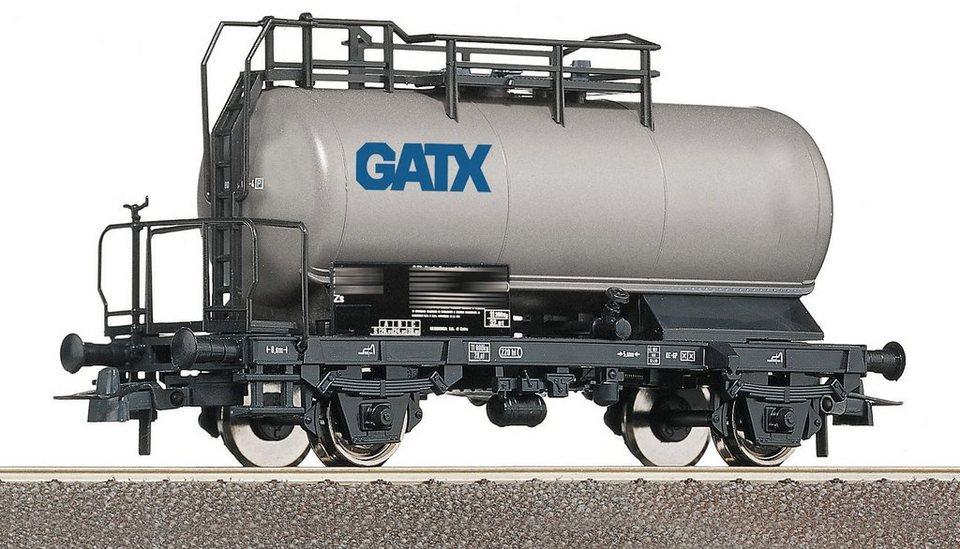 Roco Güterwagen, Spur H0, »Kesselwagen GATX - Gleichstrom« in grau