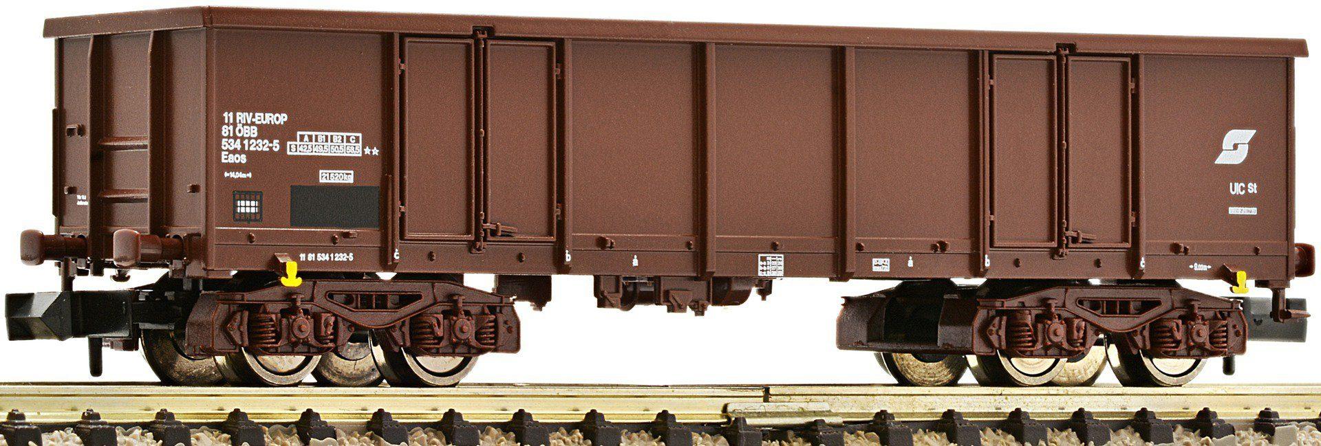 Fleischmann® Güterwagen, Spur N, »4a braun - Gleichstrom«