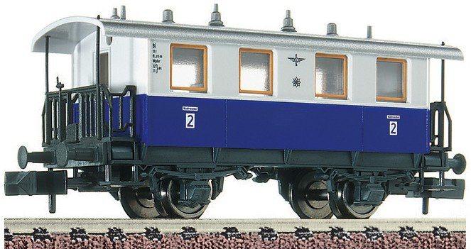 Fleischmann® Personenwagen, Spur N, »2. Kl. Zahnrad - Gleichstrom« in blau