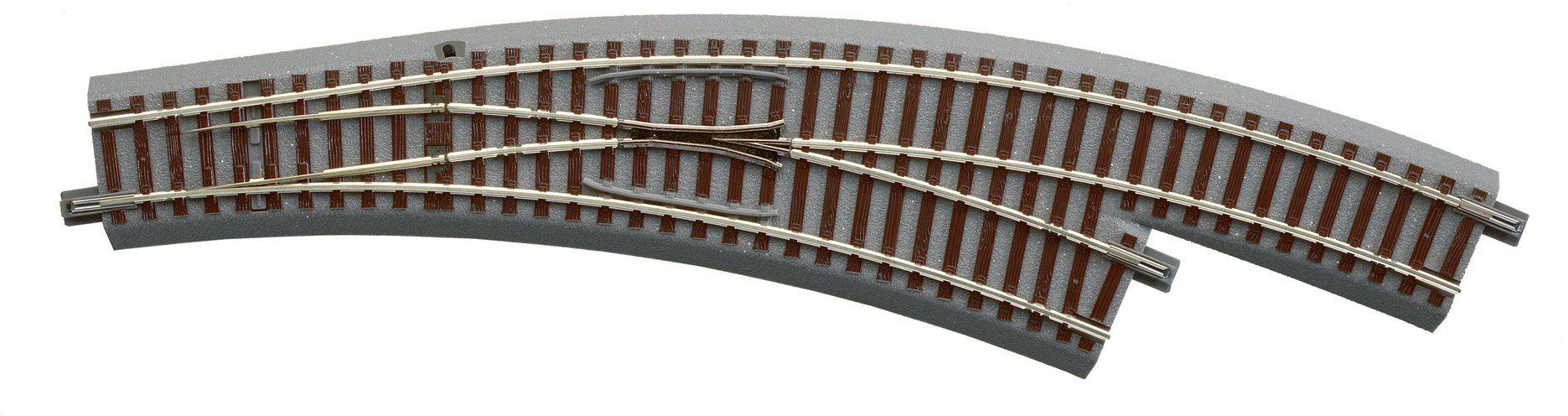 Roco Gleise, Spur H0, »Bogenweiche R3 4 rechts - Gleichstrom«
