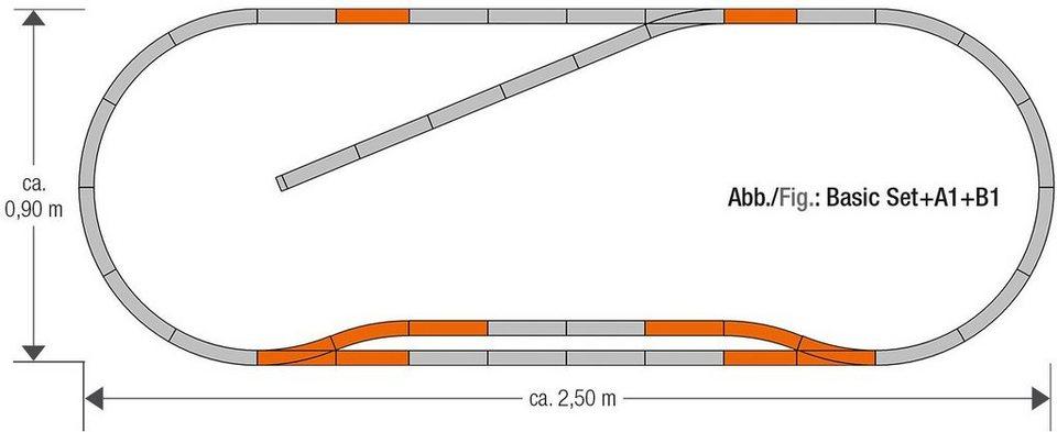 Roco Schienenset, Spur H0, »Geoline Gleisset B1 - Gleichstrom«
