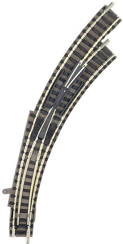 Fleischmann® Weiche, Spur N, »Handbogenweiche 45°-Grad, rechts« in braun