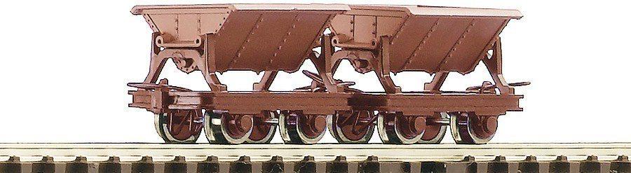 Roco Güterwagen, Spur H0, »2 tlg. Set Kipploren - Gleichstrom«