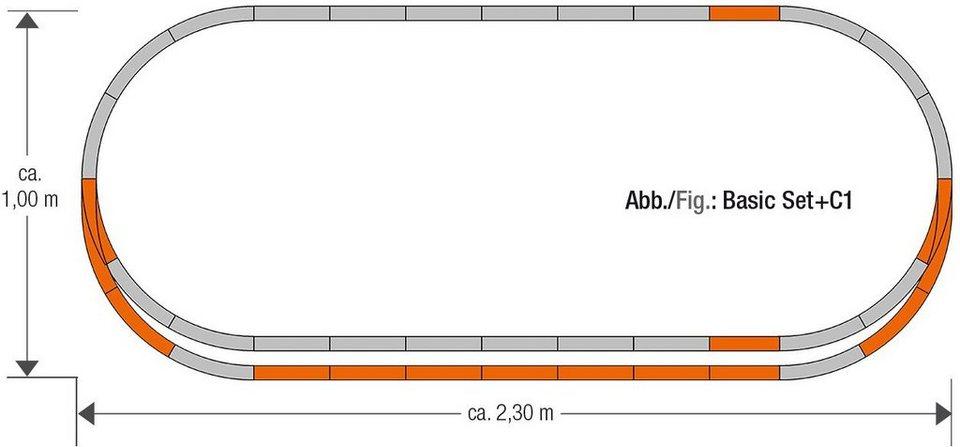 Roco Schienenset, Spur H0, »Geoline Gleisset C1 - Gleichstrom«