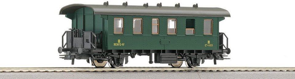 Roco Personenwagen, Spur H0, »3. Klasse Renfe - Gleichstrom« in grün