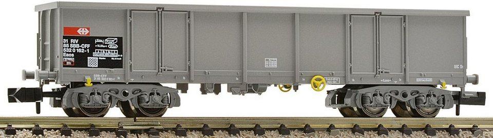 Fleischmann® Güterwagen, Spur N, »grau SSB - Gleichstrom« in grau