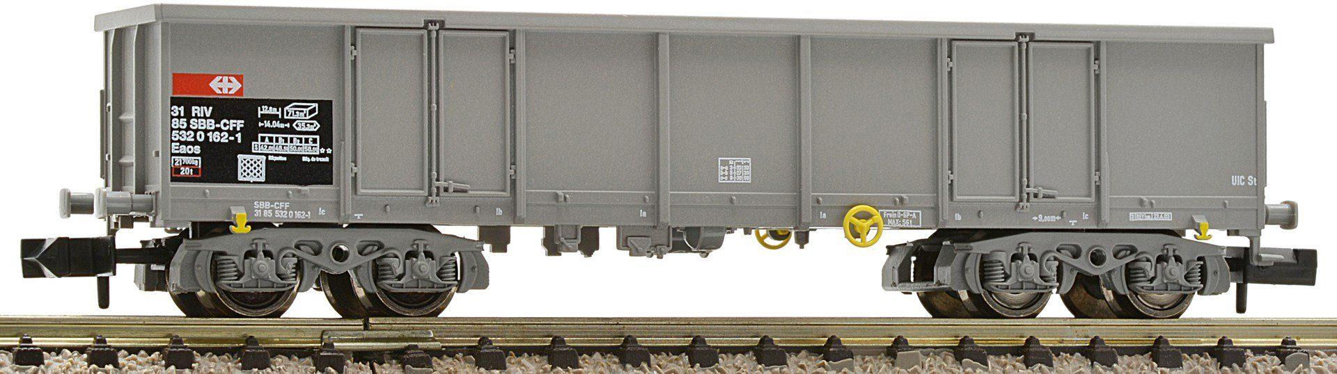 Fleischmann® Güterwagen, Spur N, »grau SSB - Gleichstrom«