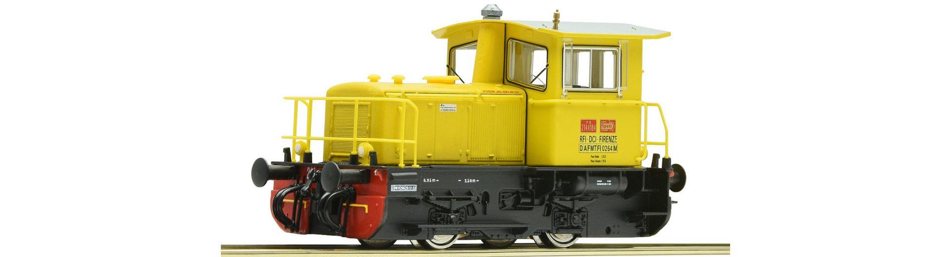 Roco Diesellok aus Metallspritzguss, Spur H0, »D-Lok Gruppo 214 FS - Gleichstrom«
