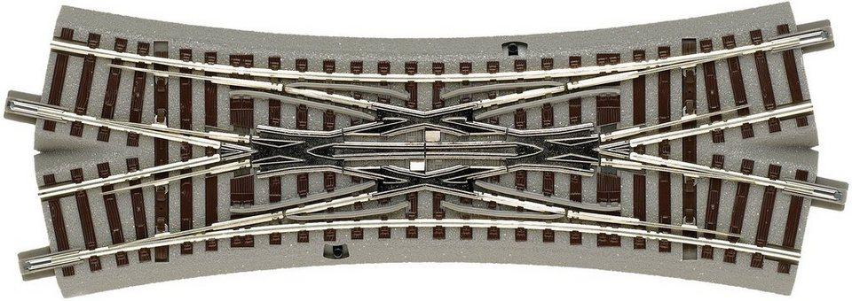 Roco Gleise, Spur H0, »Doppelkreuzungsweiche - Gleichstrom«