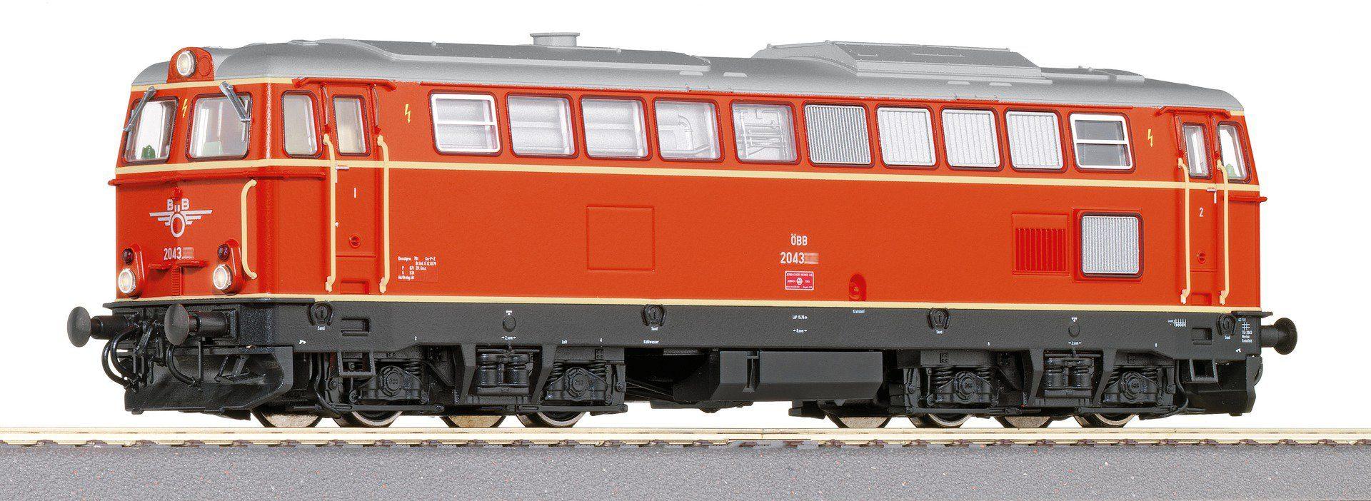 Roco Diesellok mit Licht und Sound, Spur H0, »D-Lok Rh2043 AC - Wechselstrom«