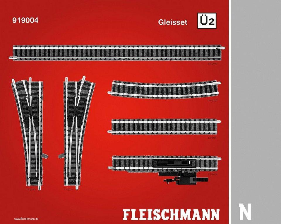 Fleischmann® Digitales Gleisset Spur N, »Ü2 - Gleichstrom«