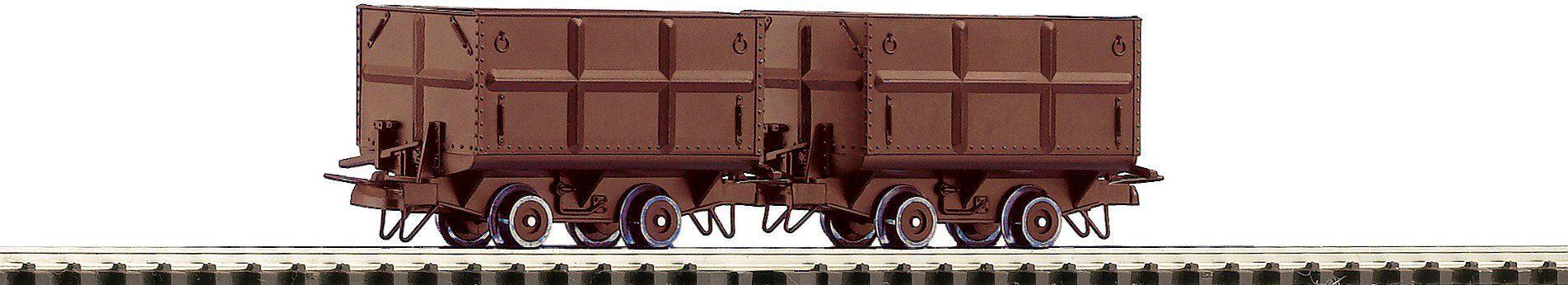 Roco Güterwagen, Spur H0, »2-tlg. Set Kohleloren - Gleichstrom«