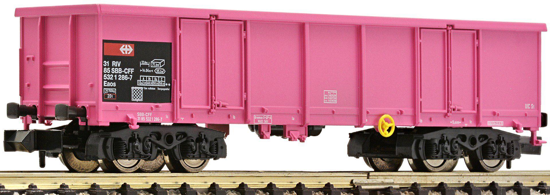 Fleischmann® Offener Güterwagen, Spur N, »Pink SBB - Gleichstrom«
