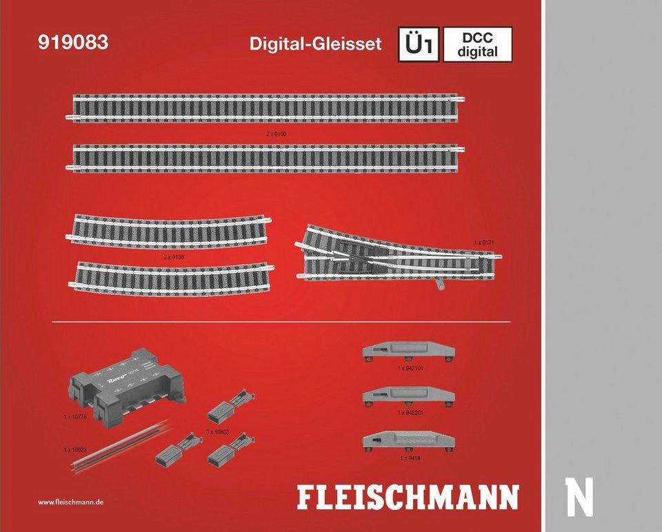 Fleischmann® Digitales Gleisset Spur N, »Ü1D - Gleichstrom«