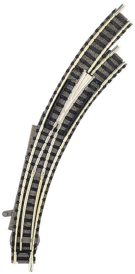 Fleischmann® Weiche, Spur N, »Handbogenweiche 45°-Grad mit stromleitendem Herzstück, rechts«