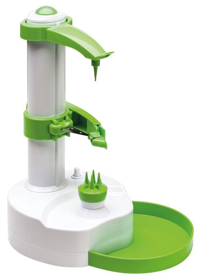 Genius Speed-Schäler in weiß/grün