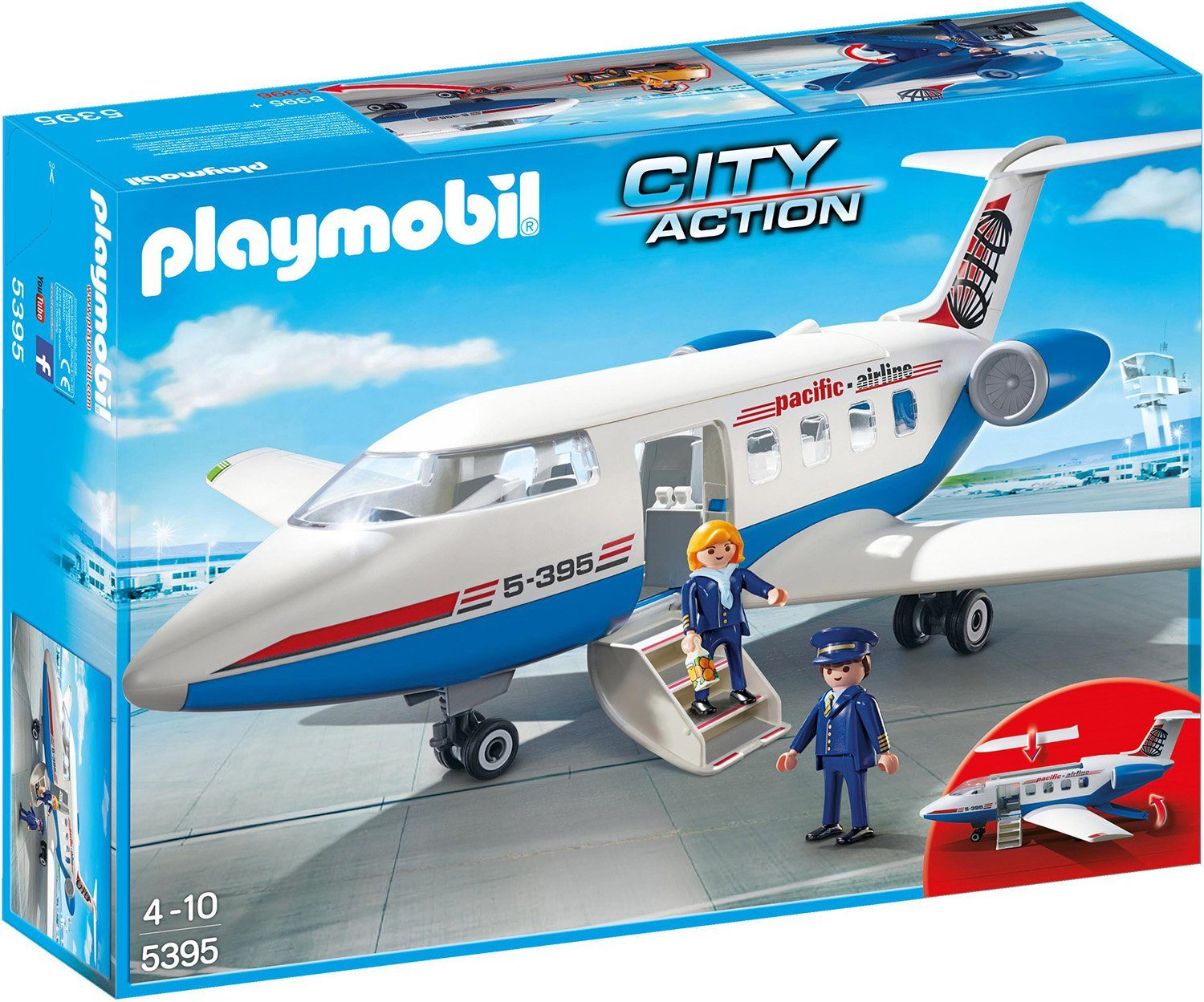 Playmobil® Passagierflugzeug (5395), »City Action«