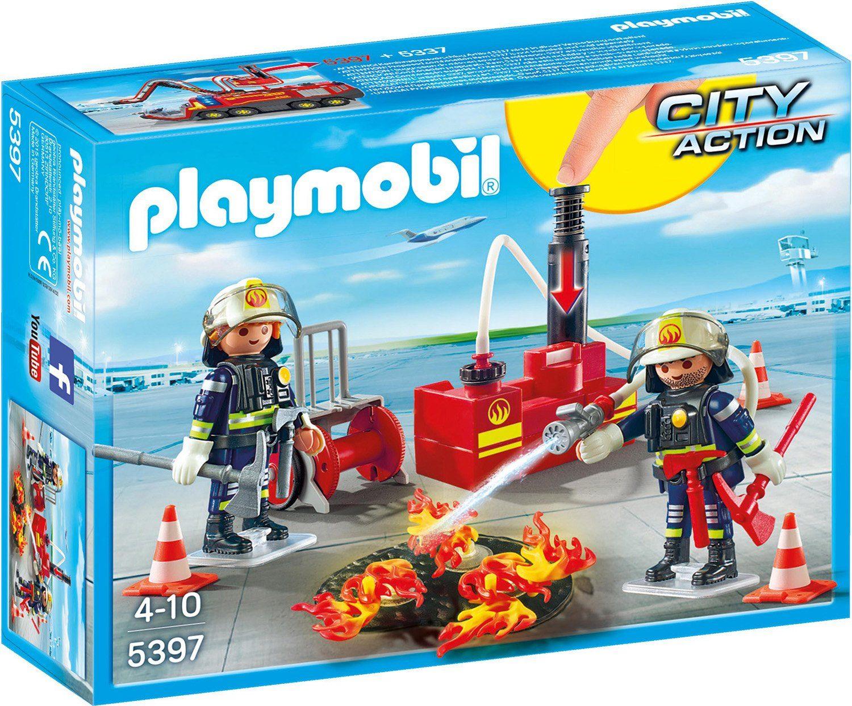 Playmobil® Brandeinsatz mit Löschpumpe (5397), »City Action«