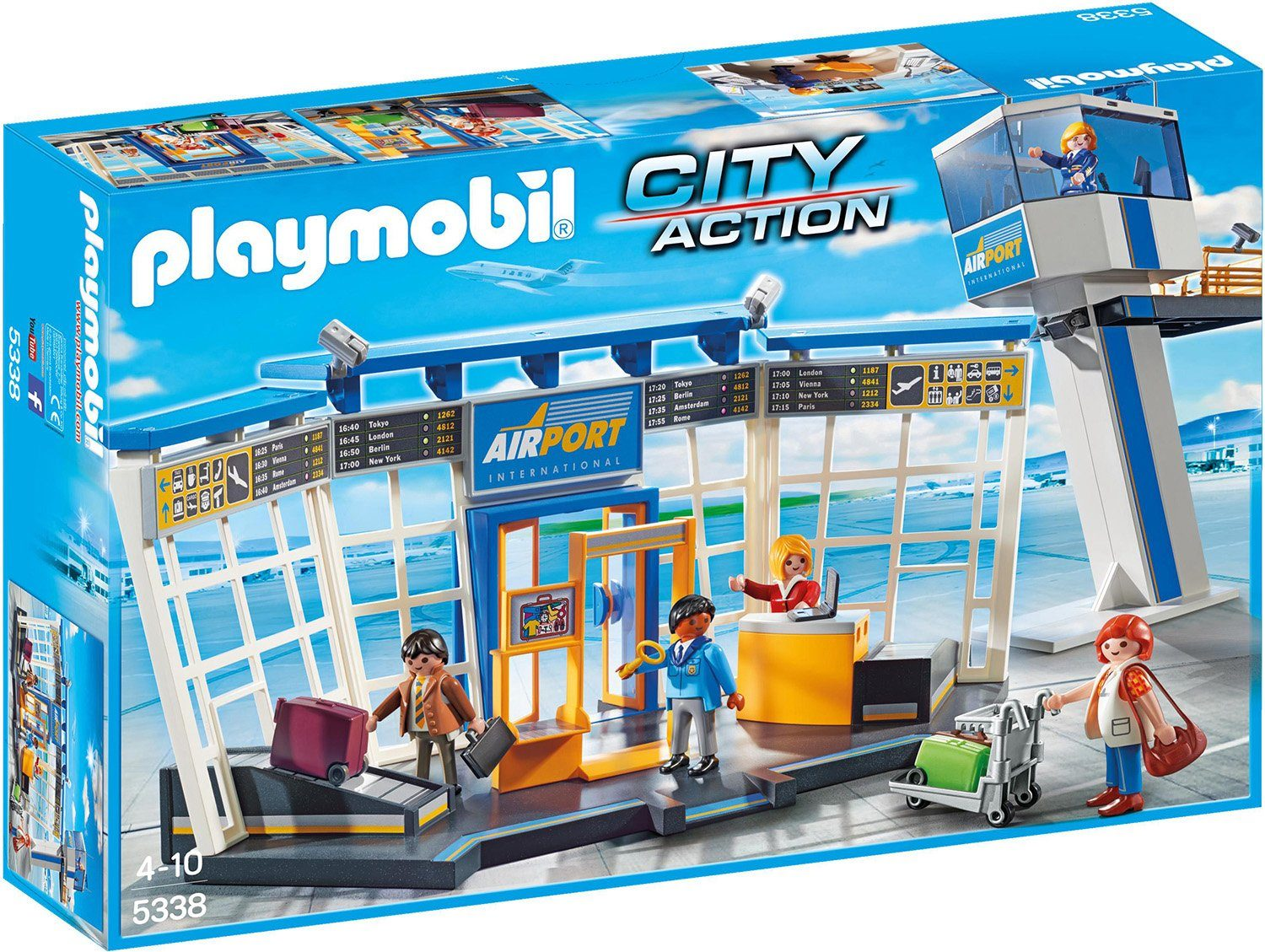 Playmobil® City-Flughafen mit Tower (5338), »City Action«