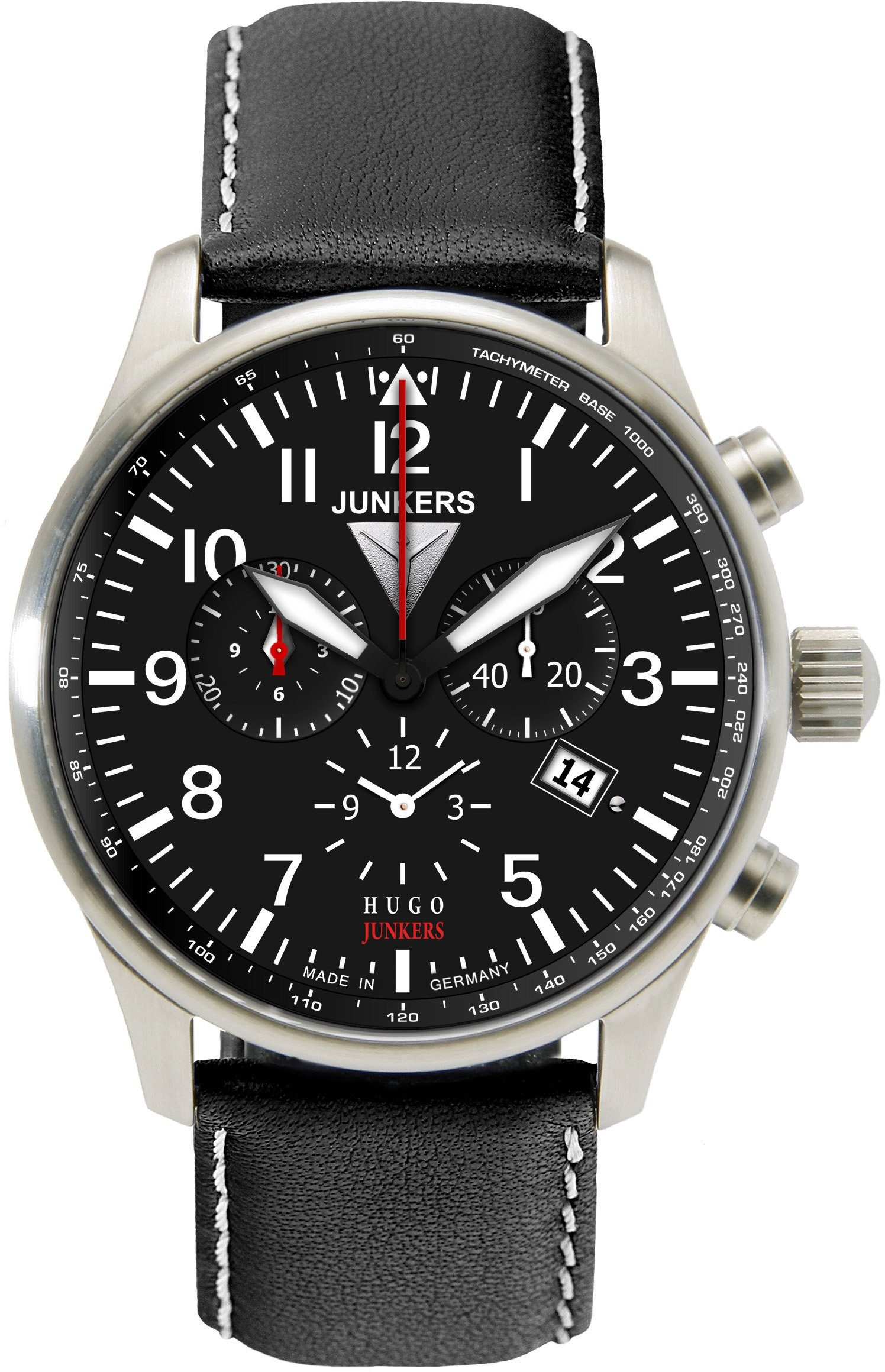Junkers-Uhren Chronograph »Hugo Junkers, 6684-2« Made in Germany