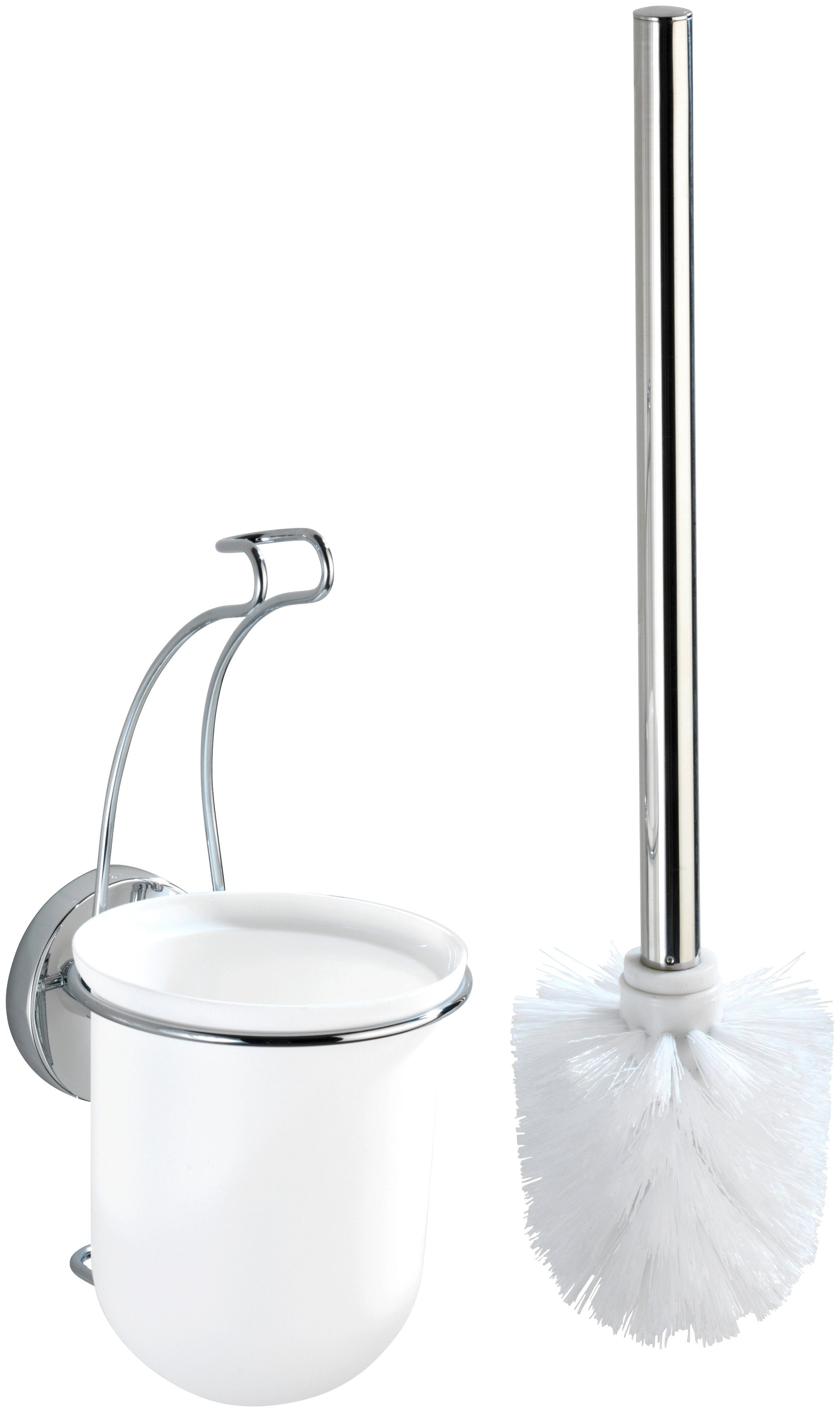 WENKO WC-Garnitur »Vacuum-Loc Milazzo«, Befestigen ohne bohren