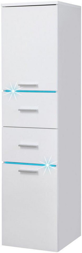Highboard »Polaris LED«, Breite 33 cm in weiß