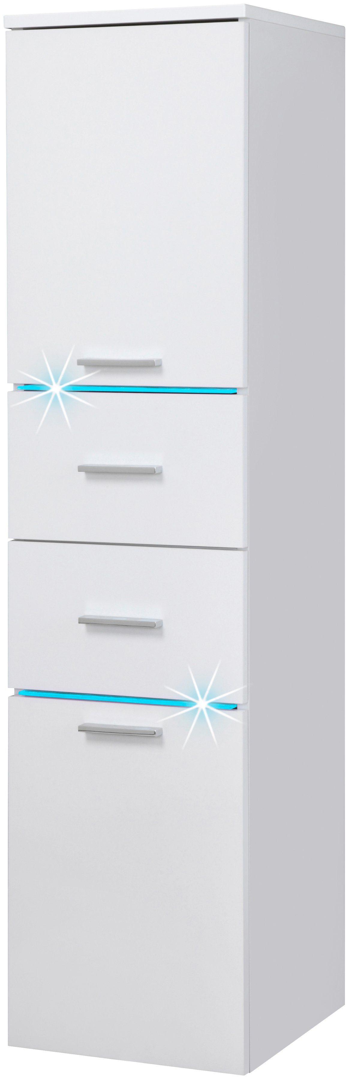 Schildmeyer Highboard »Polaris LED«, Breite 33 cm