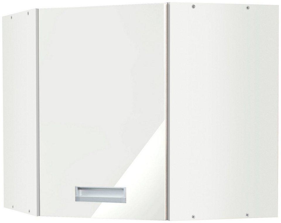 Held Möbel Küchen-Eckhängeschrank »Fulda, Breite 60 x 60 cm« in weiß