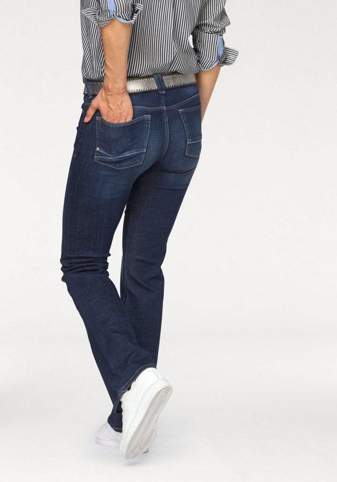 Gaastra Bootcut-Jeans »Ginesta« modische Flared-Form in blue-denim
