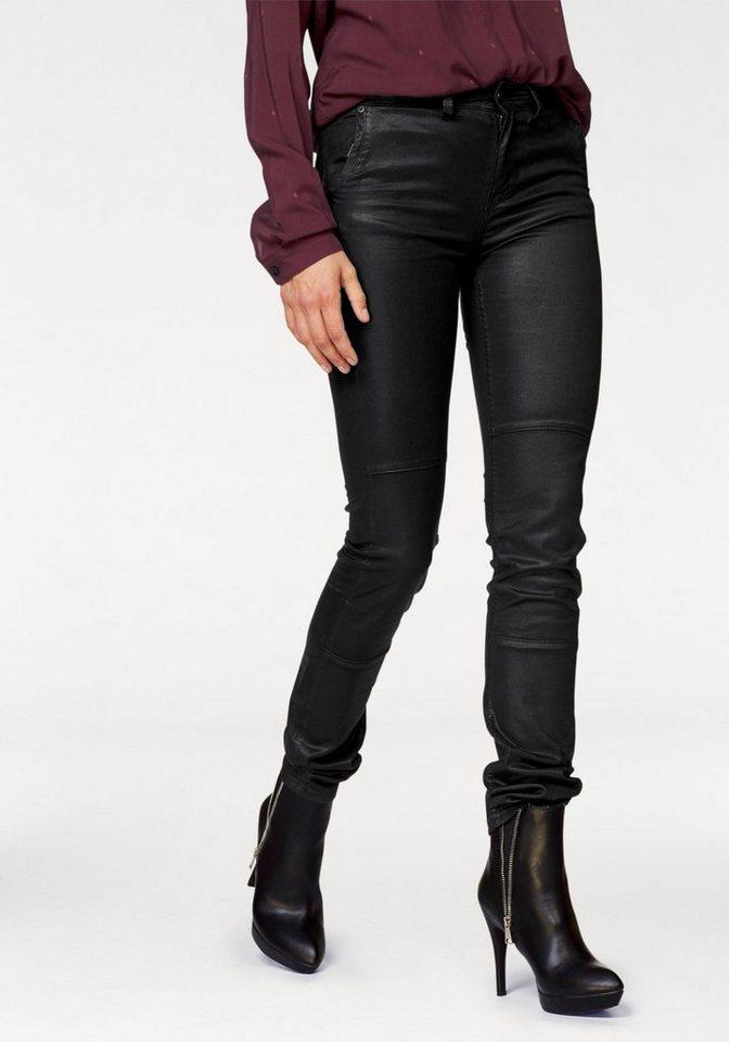 Gaastra Röhrenhose »Magna Rosrito« in modischer Beschichtung in schwarz