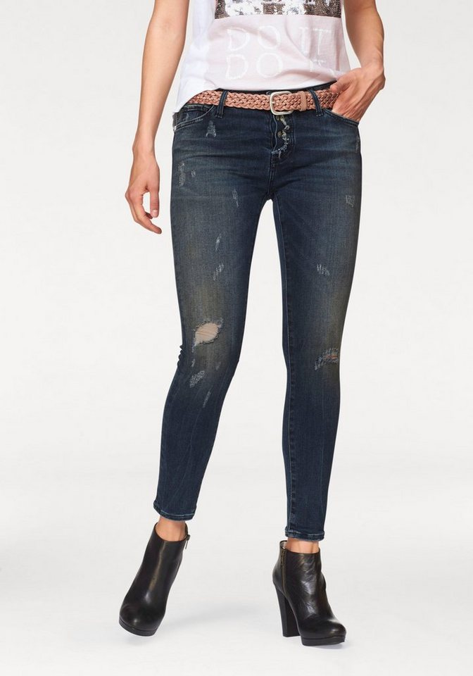 Rich & Royal 7/8-Jeans »Skinny Jeans« in blue