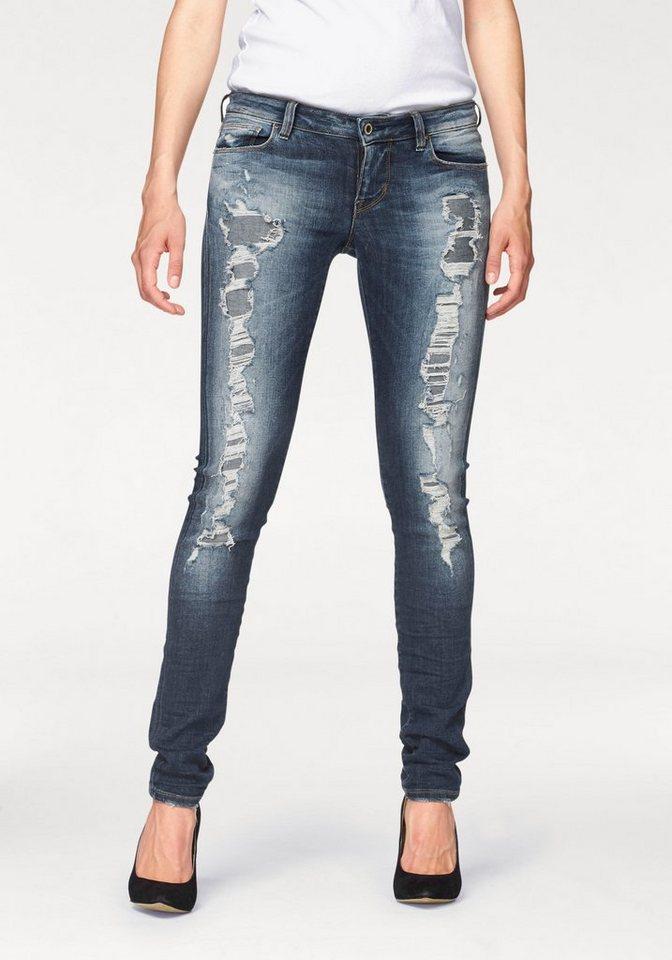 Guess Destroyed-Jeans »DAKI« Destroyed Effekte in blue