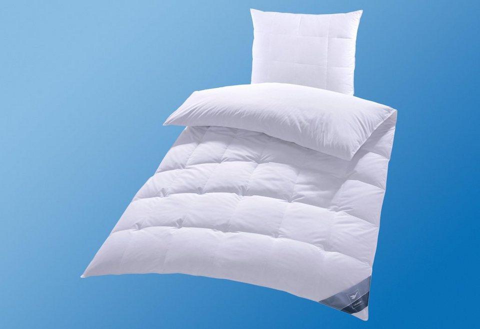Daunenbettdecke Häussling BodyPerfect, Extrawarm, 60% Daunen, 40% Federn
