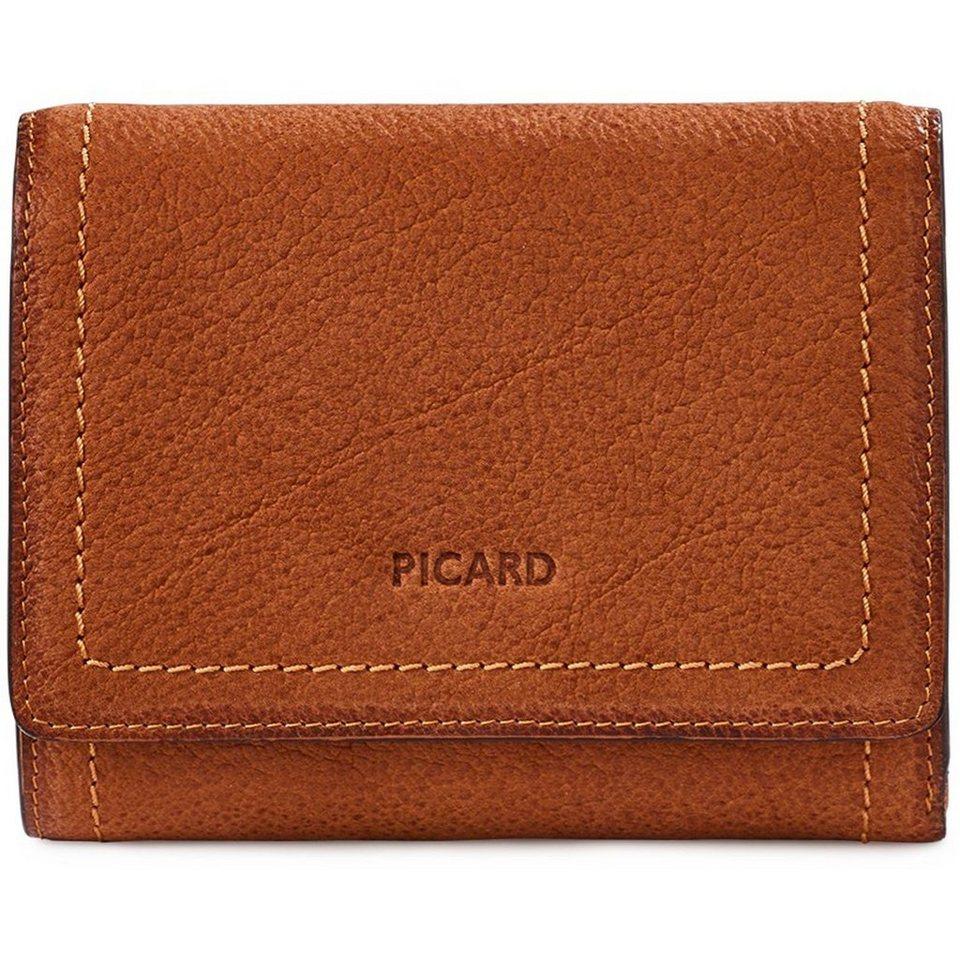 Picard Buffy 1 Geldbörse Leder 12 cm in cognac
